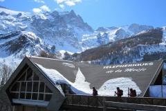 Les Deux Alpes - szczytLaMeije