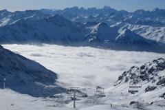 Val Thorens - szczyty