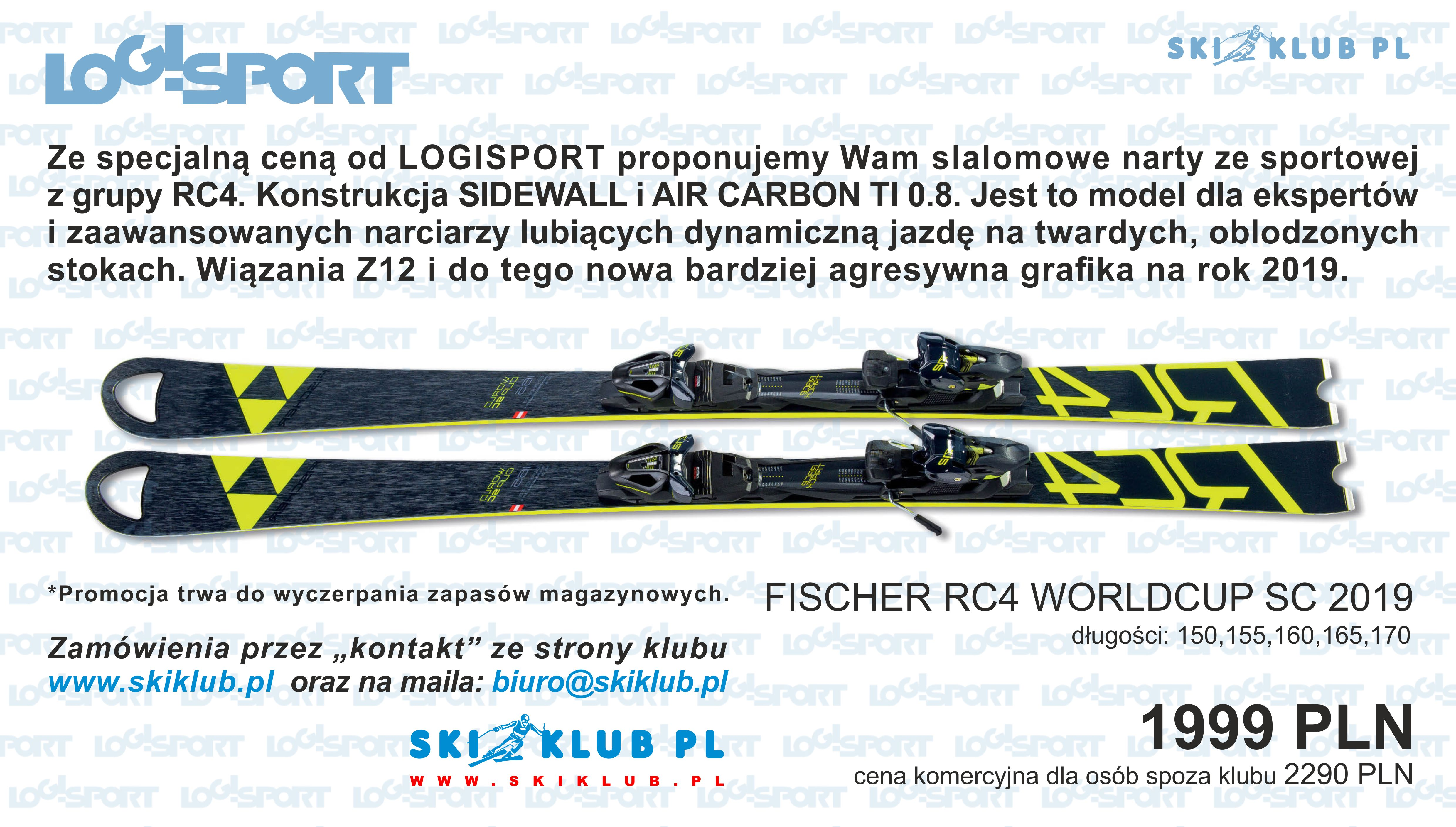 narty Fischer Rc4 WC SC
