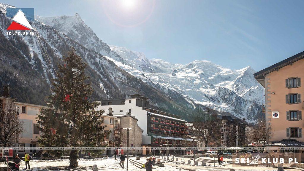 Wyjazd narciarski do Chamonix.