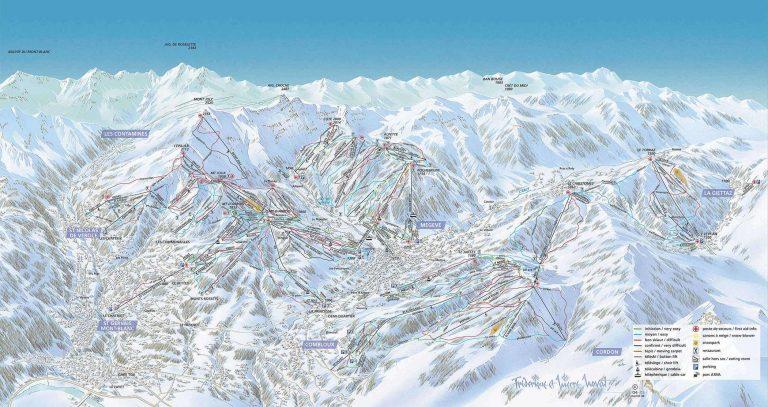 Plan tras Evasion Mont Blanc
