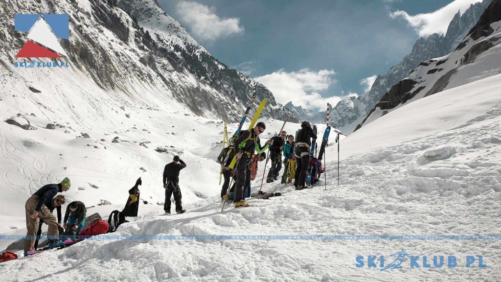 Zjazd narciarski Vallee Blanche